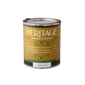 Heritage Natural Finishes Liquid Wax